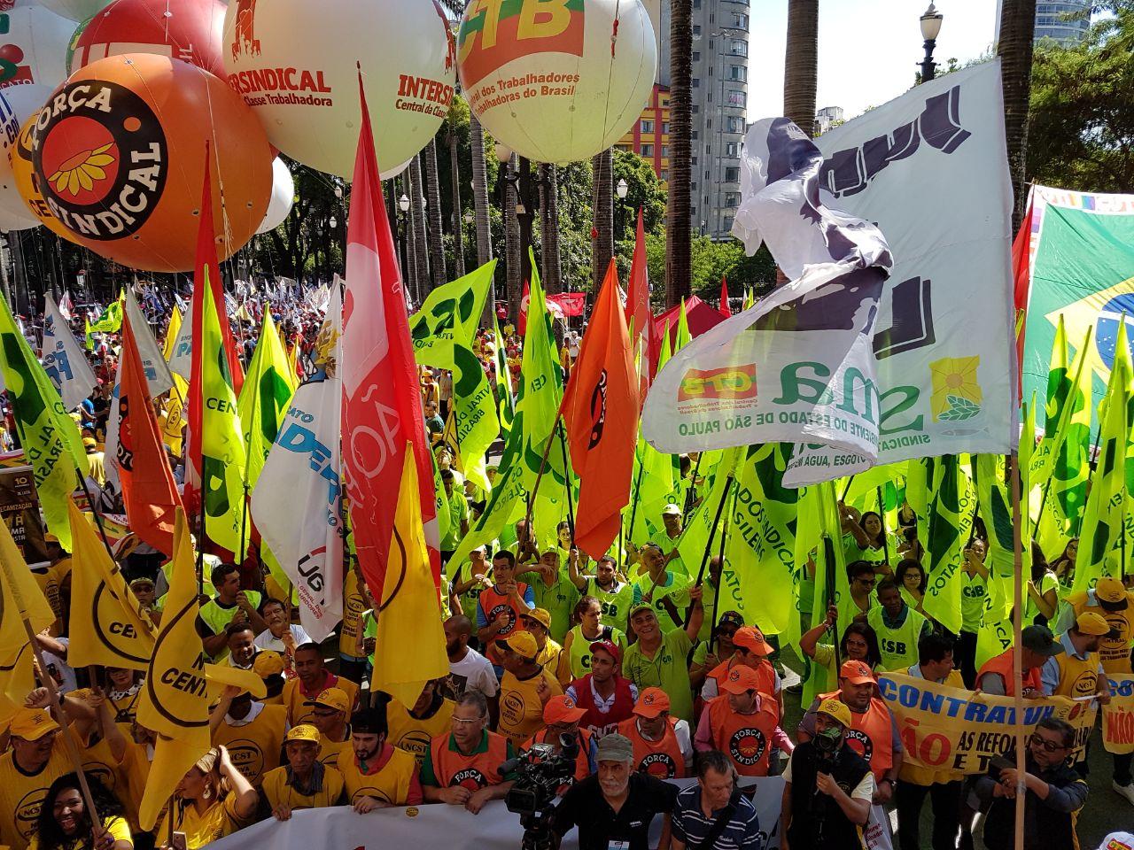 Dia Nacional de Protestos, Lutas e Paralisações – Reforma Trabalhista
