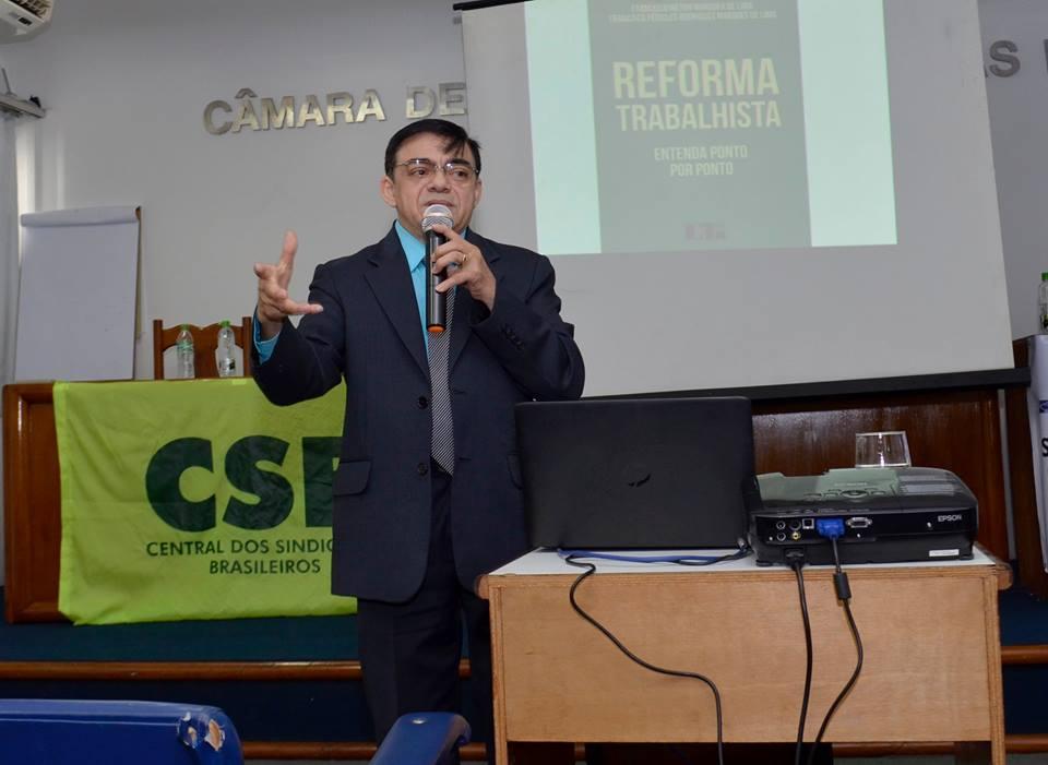 Reforma trabalhista é debatida em Campos dos Goytacazes (RJ)