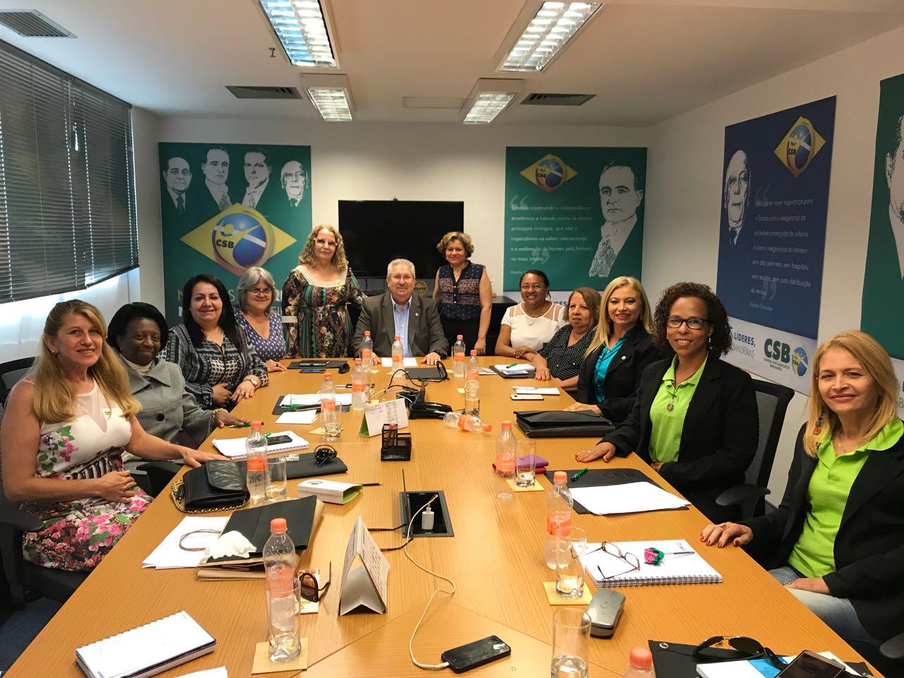 Secretárias estaduais da CSB se reúnem em São Paulo para discutir Encontro Nacional