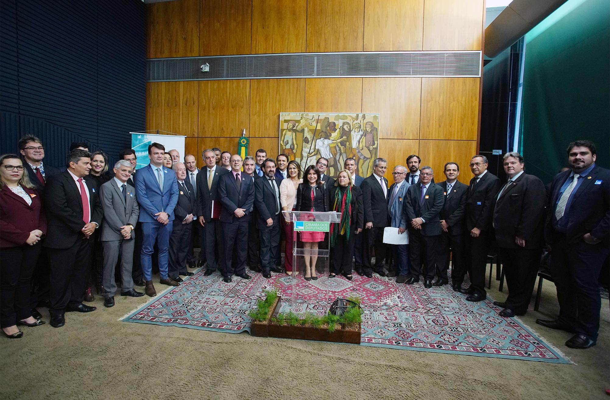 Vice-presidente Joana Lopes participa de lançamento de frente parlamentar da odontologia