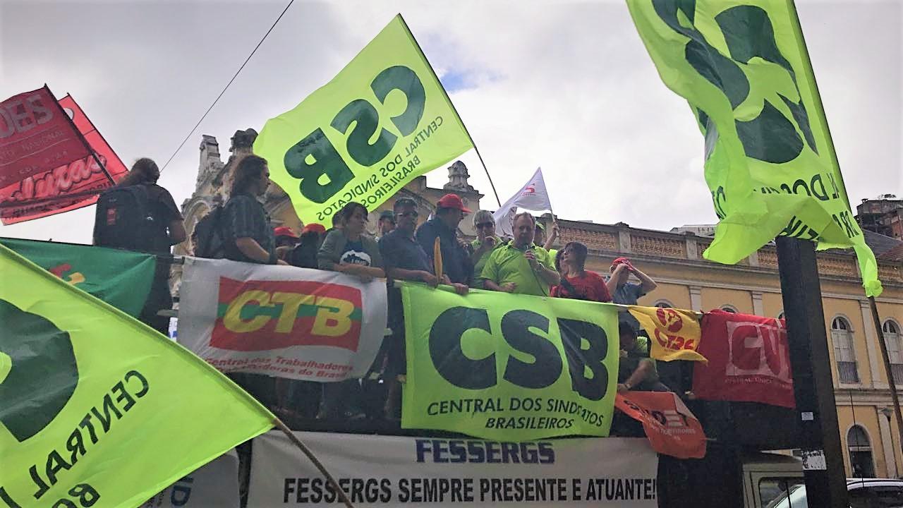 Contra reformas trabalhista e da Previdência, centrais realizam atos e mobilizações pelo País