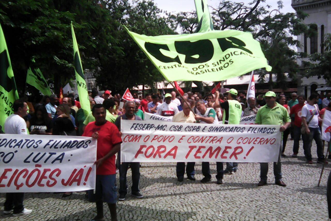 5 de dezembro|2017 – Dia Nacional de mobilizações contra as reformas trabalhista e da Previdência