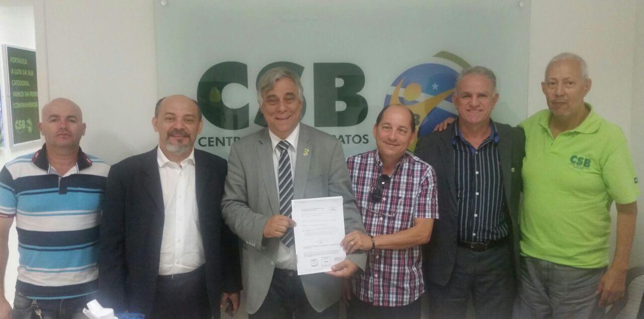Federação Nacional dos Oficiais de Justiça formaliza sua filiação à CSB