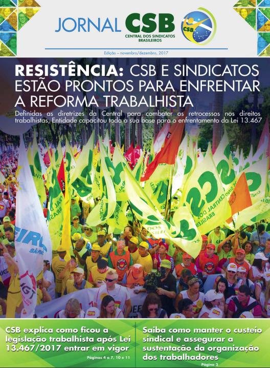Jornal CSB de Novembro/Dezembro de 2017