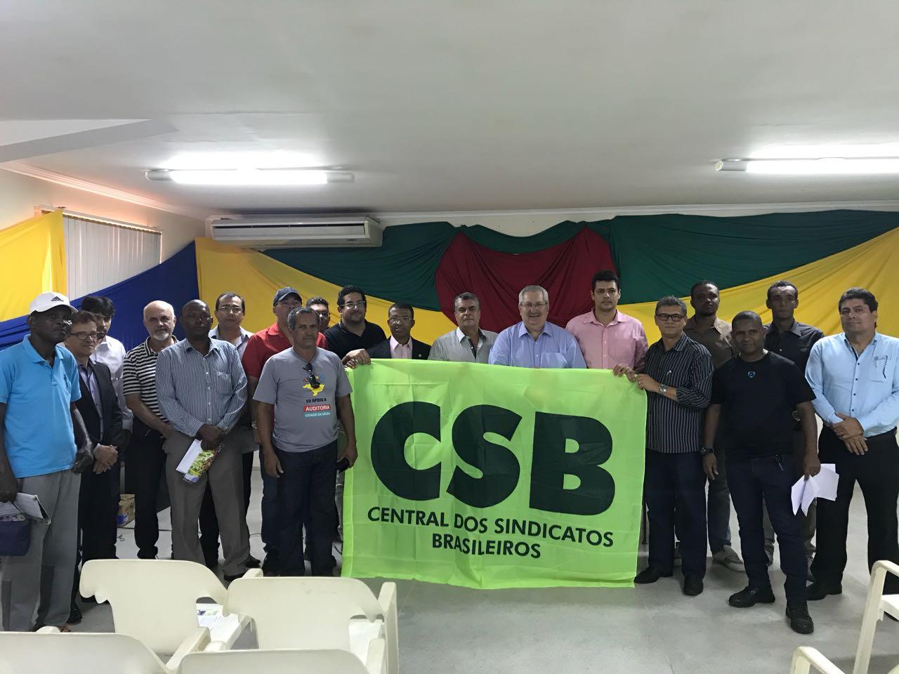Em reunião com filiados em Salvador, CSB amplia consolidação das bases na Bahia