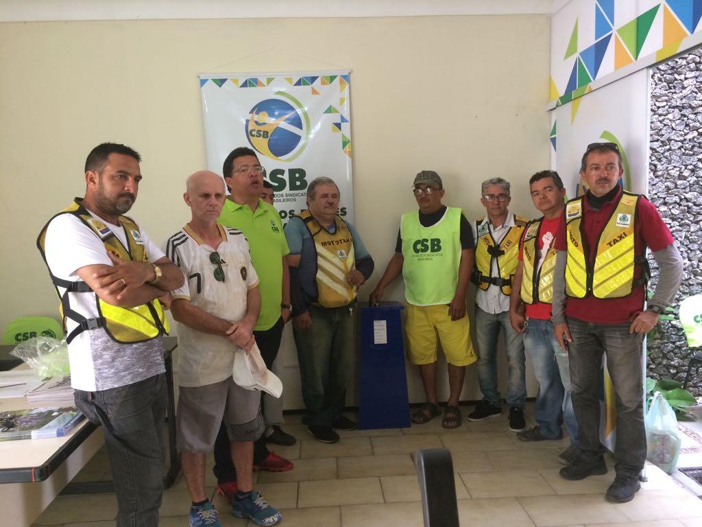 Chapa 1 é eleita para assumir Sindicato dos Mototaxistas de Fortaleza