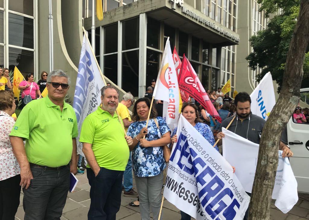 CSB RS atua contra venda de estatais no Rio Grande do Sul