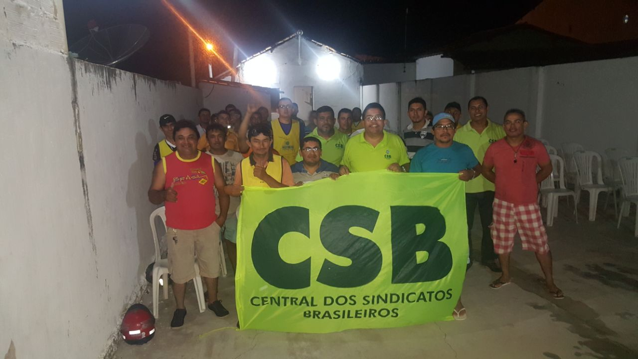 CSB participa de assembleia de fundação do Sindicato dos Mototaxistas de Camocim (CE)