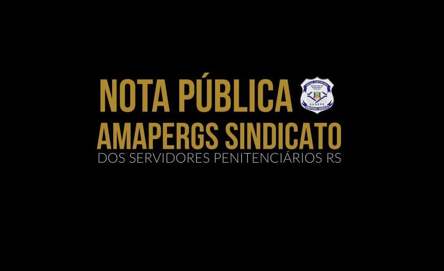 CSB Rio Grande do Sul apoia Sindicato dos Servidores Penitenciários do estado na luta salarial