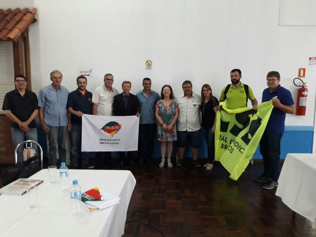 CSB promove ciclo de palestras sobre a reforma trabalhista para dirigentes sindicais gaúchos