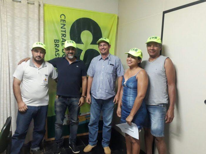 Para fortalecer movimento sindical, seccional da CSB no Mato Grosso se reúne com sindicatos do interior do estado