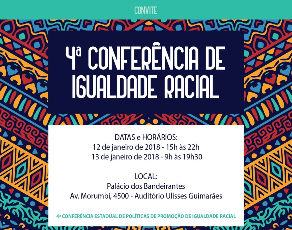 CSB participa da 4ª Conferência Estadual de Igualdade Racial