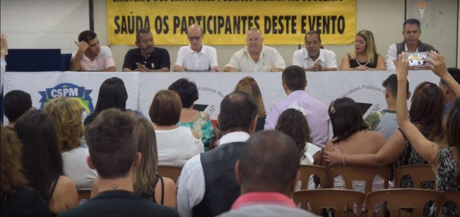 Diretoria reeleita em pleito organizado pela Federação toma posse de novo mandato