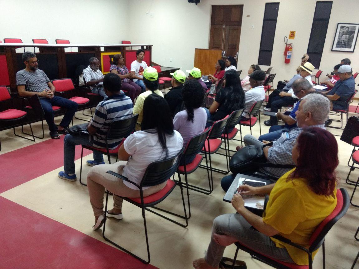 No Maranhão, centrais sindicais organizam planejamento das ações contra as reformas