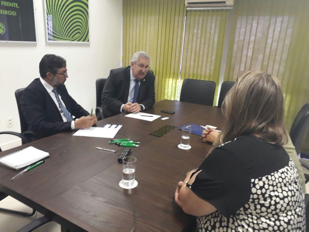 Presidente da CSB recebe dirigentes da Anamatra para discutir reforma trabalhista