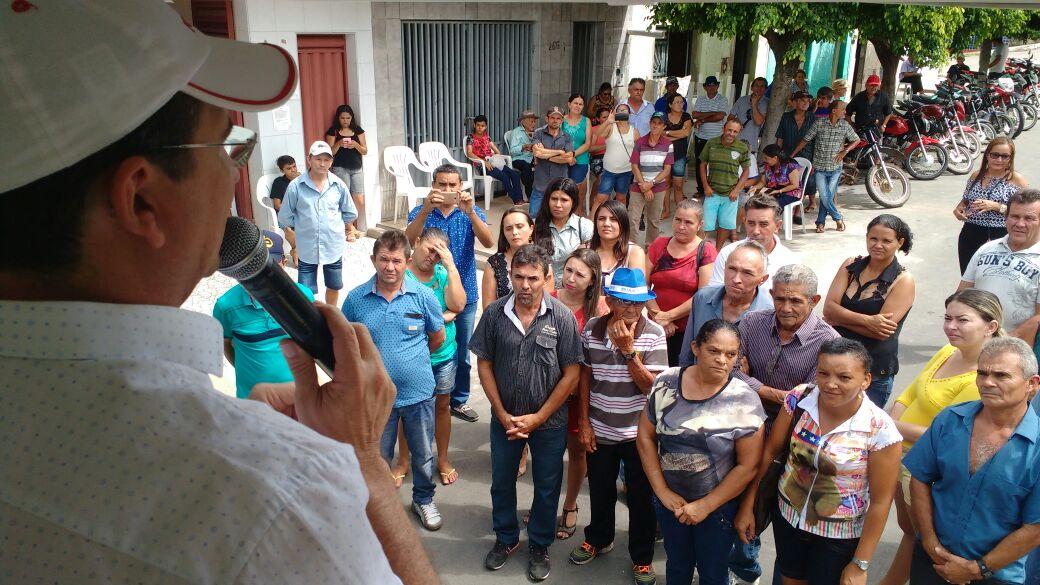 Cerimônia de posse da diretoria do Sindicato dos Trabalhadores Rurais de Tarrafas celebra os 23 anos de fundação da entidade