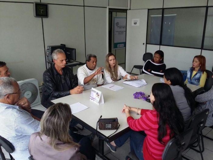 """FESERP/MG, CSB e SINSERPU-JF participam de reunião que discute o """"Chamamento Público"""" da prefeitura de Juiz de Fora"""