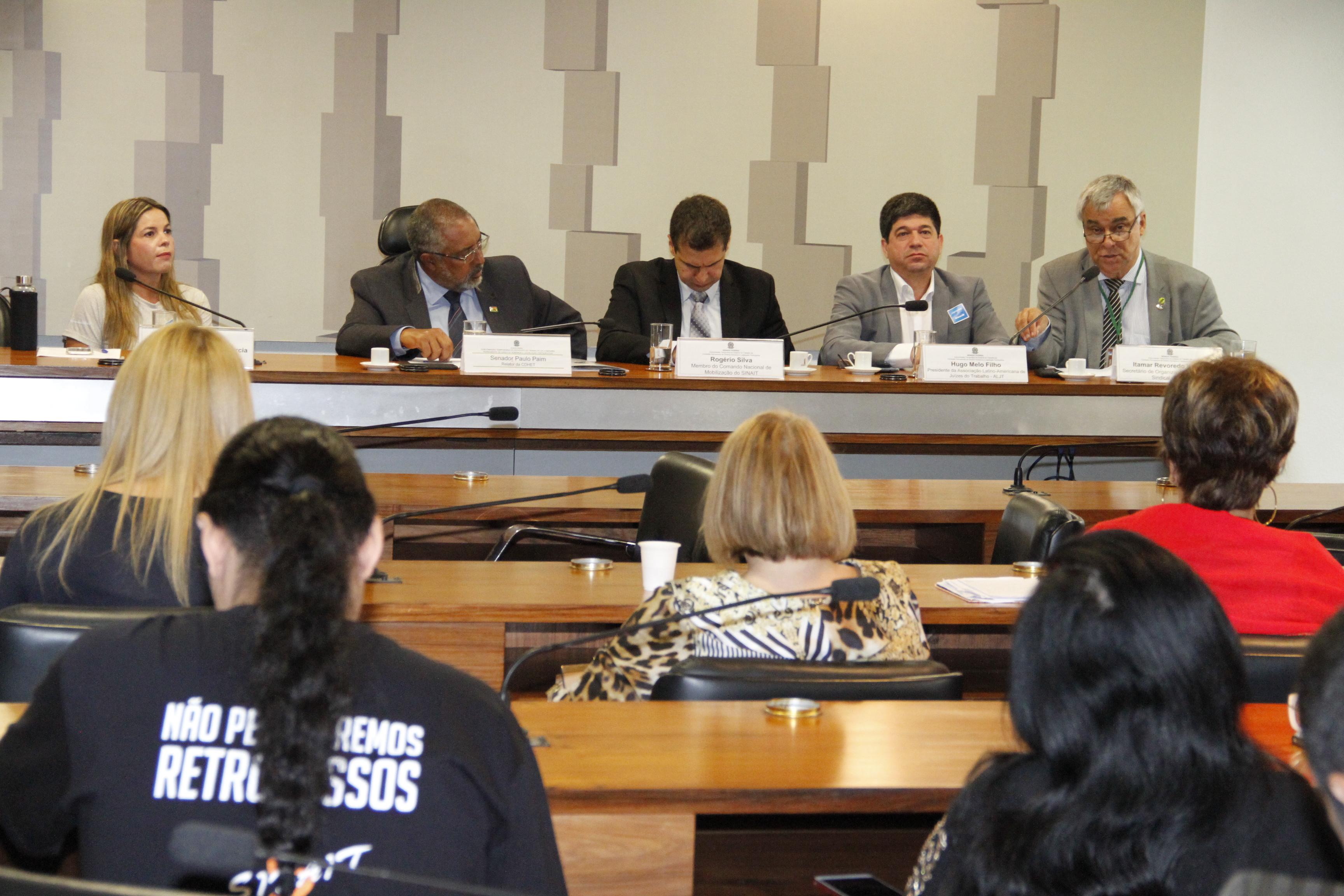 Audiência pública do Senado debate fragilidade do trabalhador perante reforma trabalhista