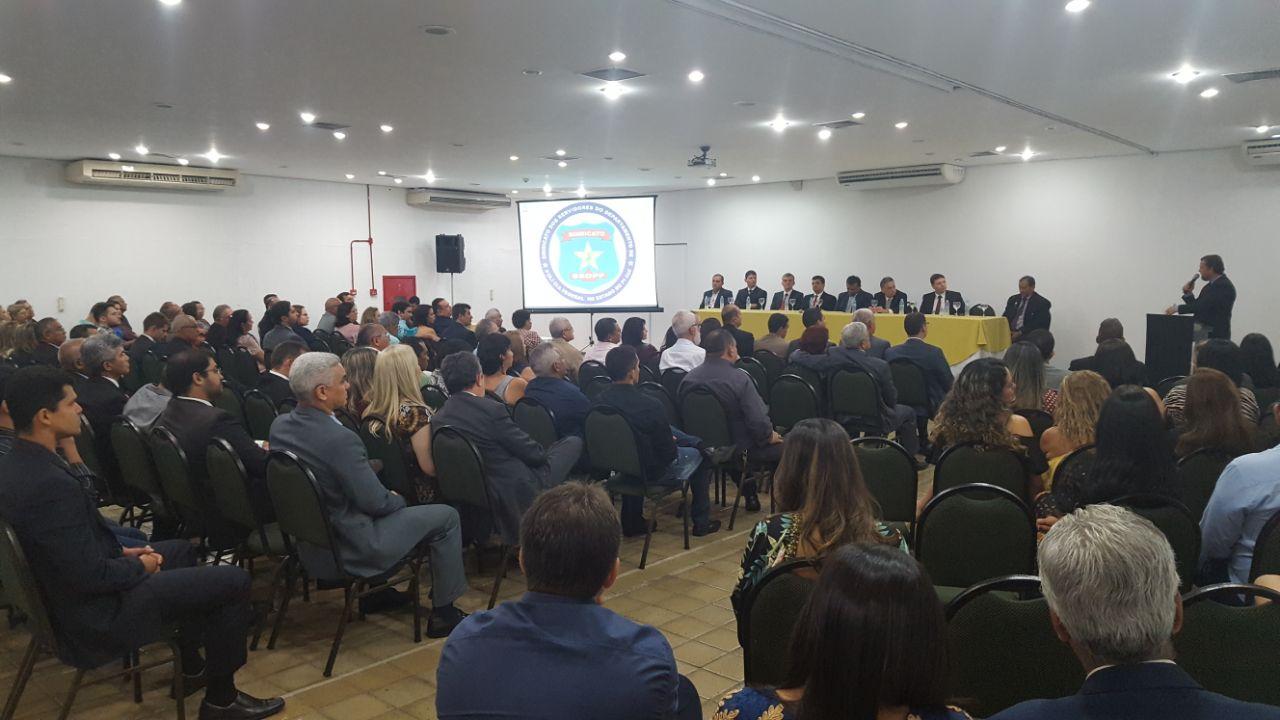 Diretoria do Sindicato dos Servidores da PF de Piauí toma posse para ampliar a luta contra os retrocessos