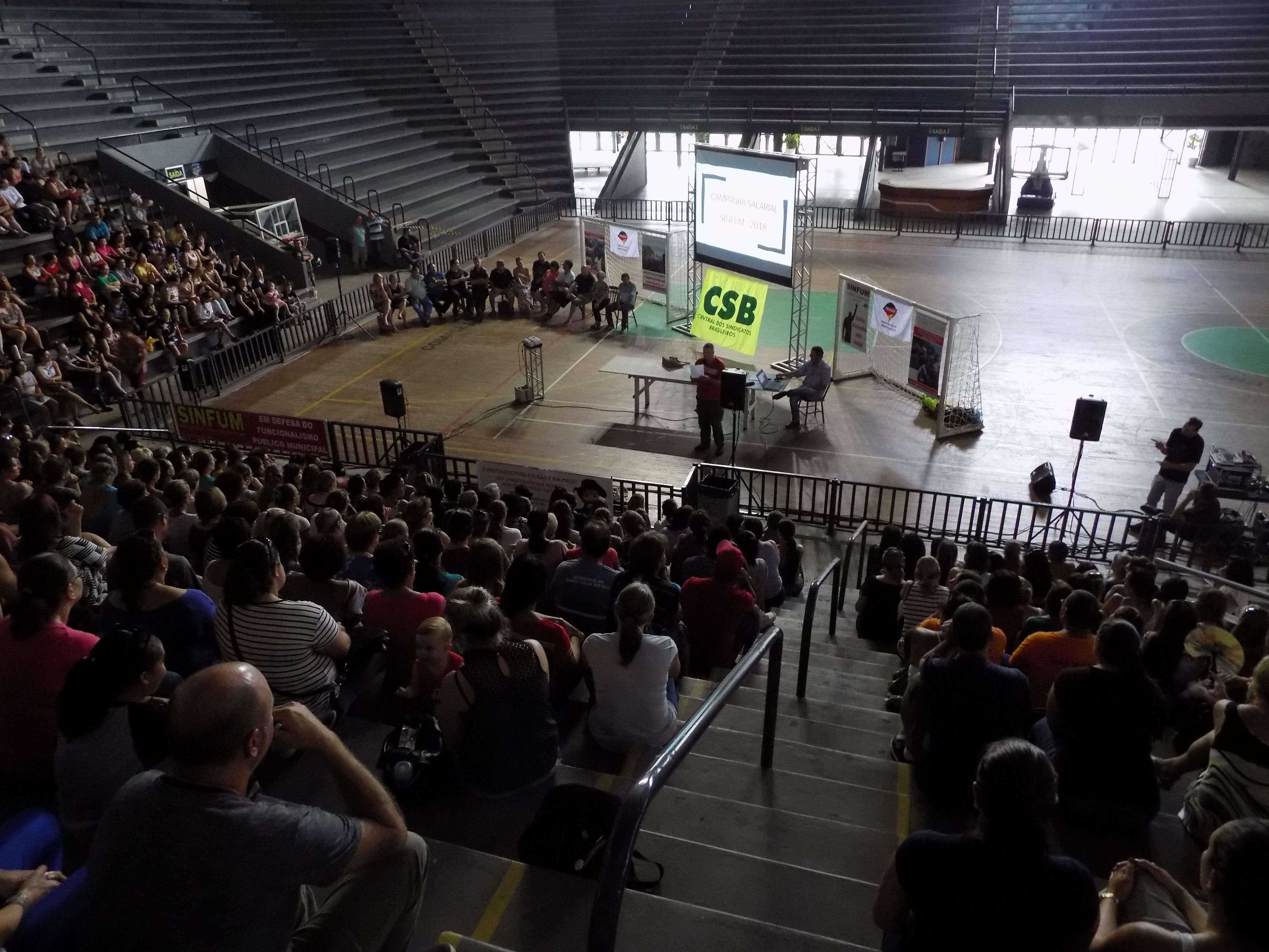 Municipários de Santa Cruz do Sul (RS) aprovam por unanimidade filiação à CSB