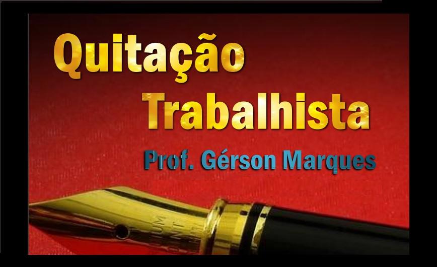 Procurador Gérson Marques lança livro e palestra sobre Quitação Anual Trabalhista no Ceará