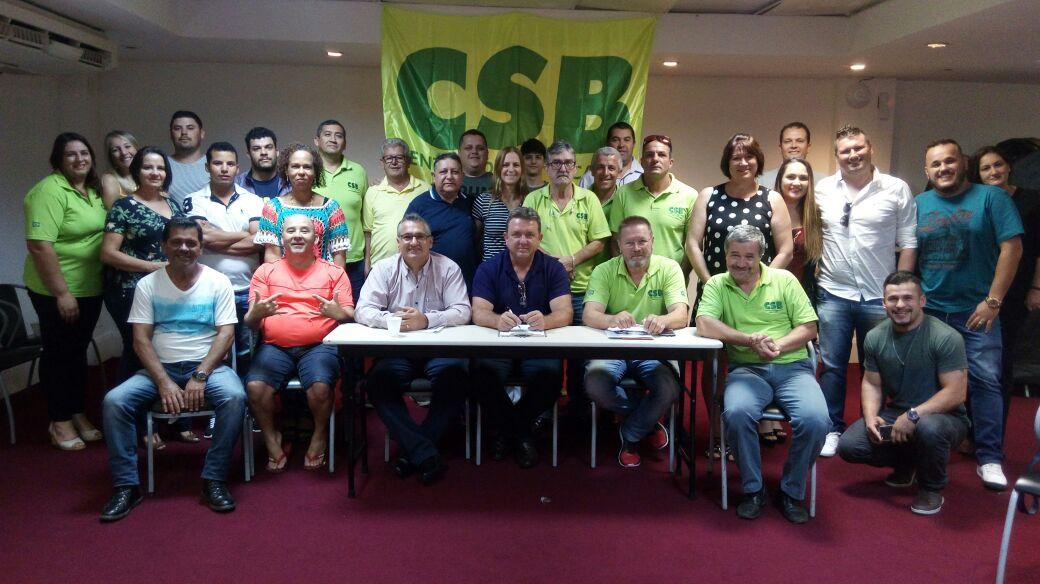 Seccional Santa Catarina da CSB debate a realidade nacional e oficializa sua sede em São José