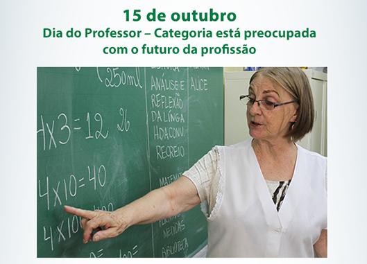 15 de outubro: Dia do Professor