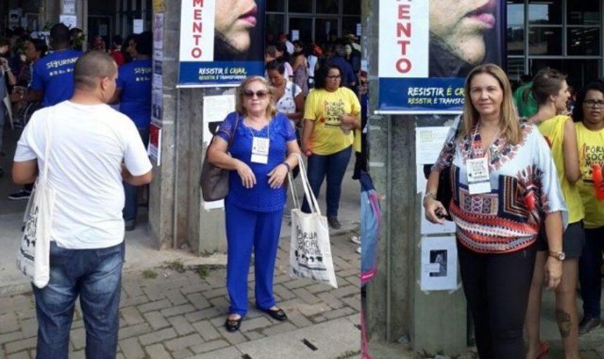 Dirigentes do SINDODONTO-PB participam do Fórum Social Mundial na Bahia
