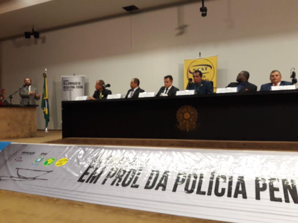 CSB defende PEC da criação das polícias penais na Câmara dos Deputados