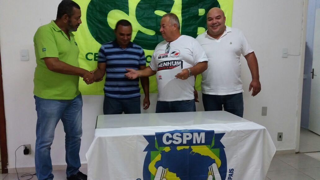 Chapa apoiada pela CSB vence pleito no Sindicato dos Servidores de Caçapava (SP)