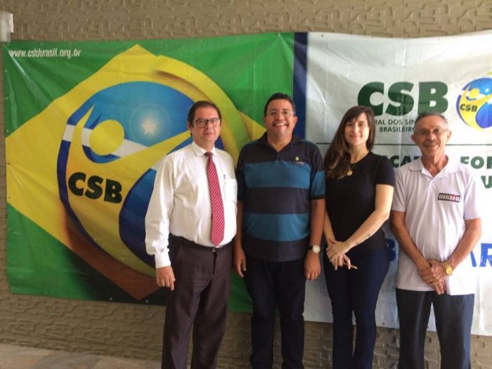 CSB CE se reúne com sindicatos para debater realidade do País