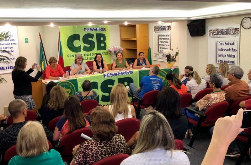 CSB RS debate espaço feminino no mercado de trabalho em comemoração ao mês da mulher