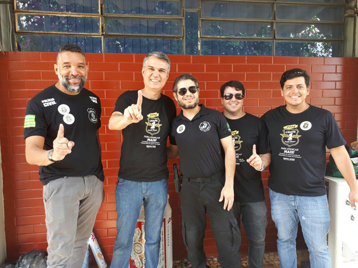 Em Goiás, chapas apoiadas pela CSB vencem eleições dos sindicatos de policiais civis e gestores governamentais