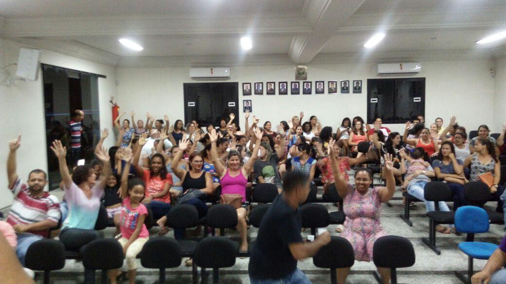 Servidores de Sooretama (ES) reivindicam Piso Nacional para professores
