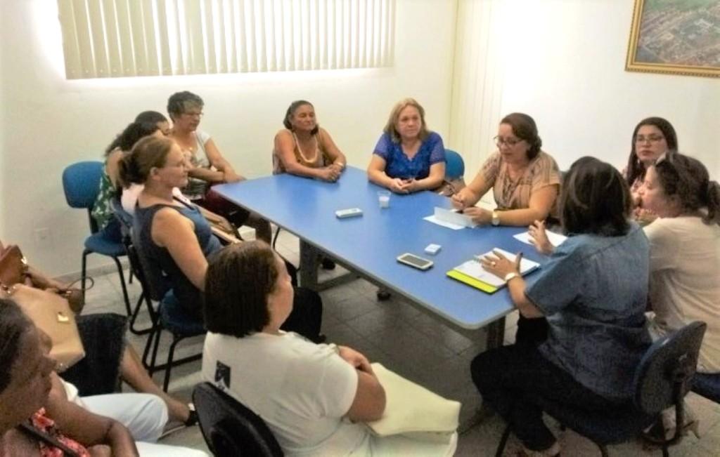 SINDODONTO e SINDSAÚDE se reúnem com secretária de Saúde de Sapé