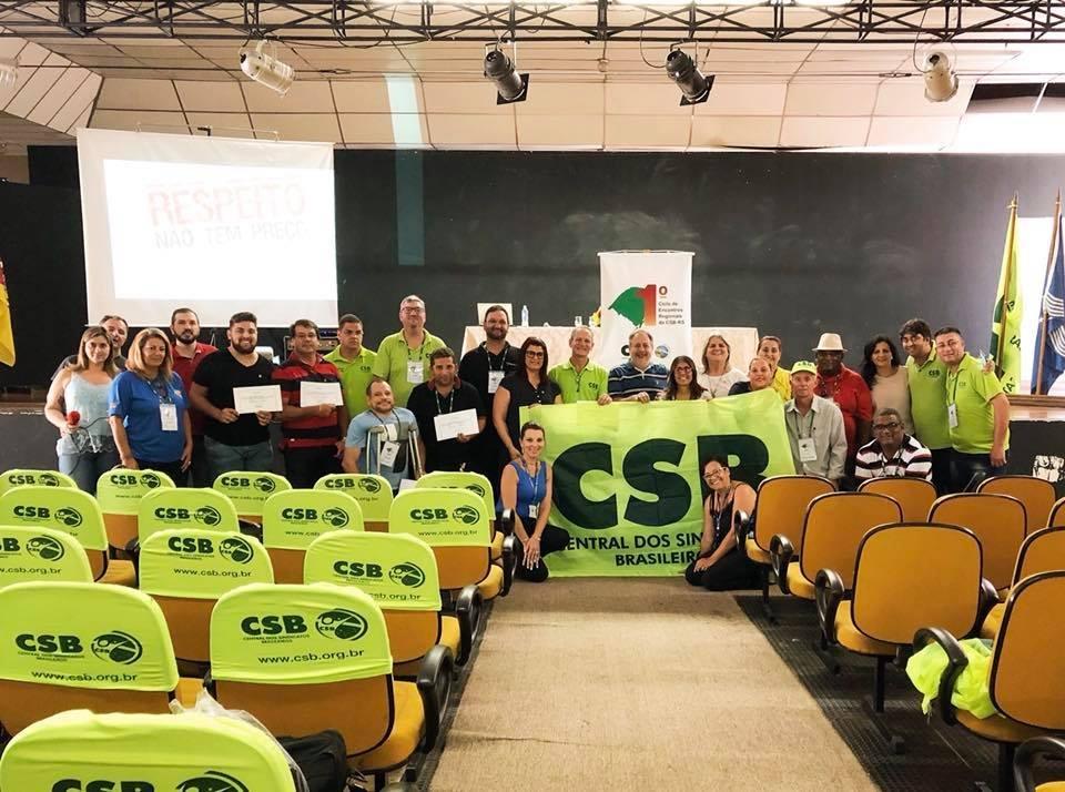Primeiro encontro regional da CSB RS debate reforma trabalhista e assédio contra mulher