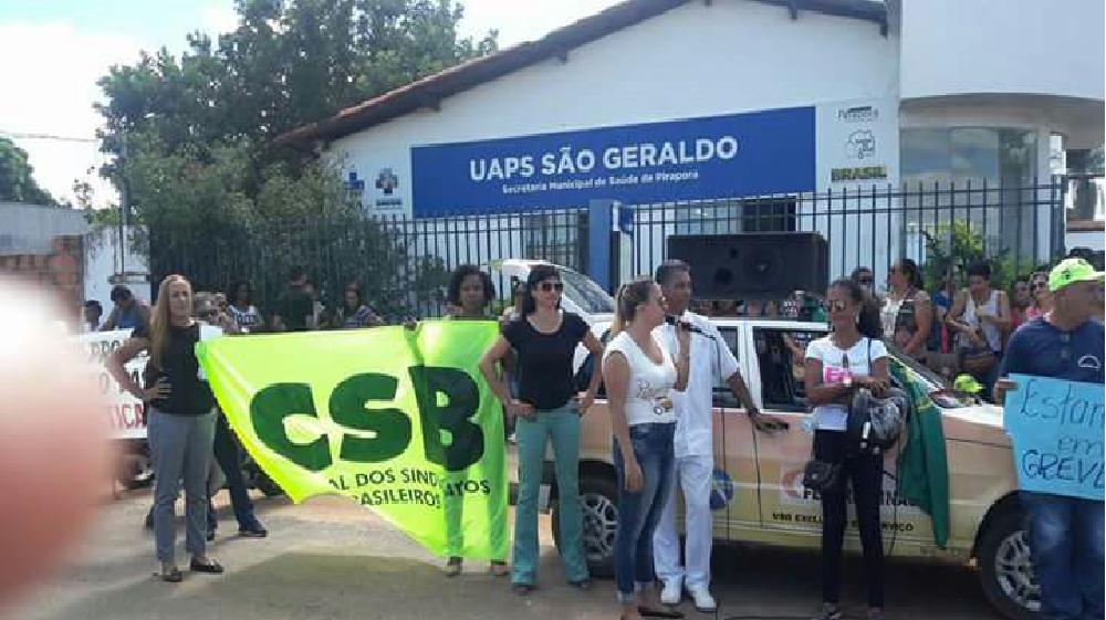 Com destaque na Mídia, greve dos servidores revela má gestão na Prefeitura de Pirapora