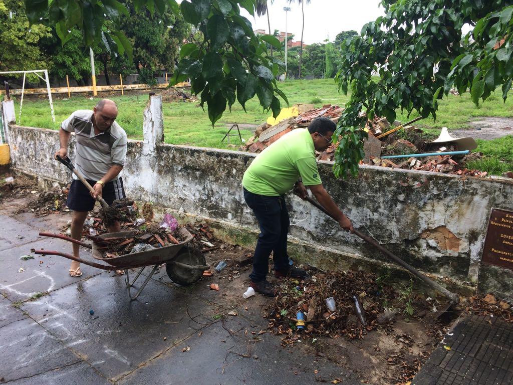 Ajude a reconstruir o Clube do Taxista em Fortaleza