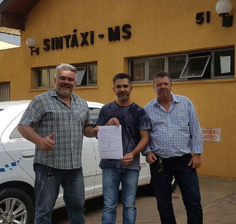Sindicato dos Taxistas do Mato Grosso do Sul é novo filiado da CSB