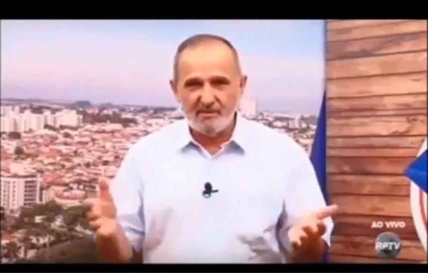 Presidente da FESSPMESP defende servidores em programa de TV de Americana (SP)