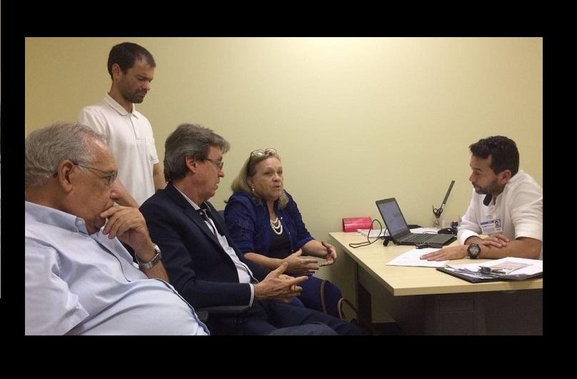 SINDODONTO/PB inicia acordo coletivo no novo Hospital Metropolitano e entrega pauta de reivindicações