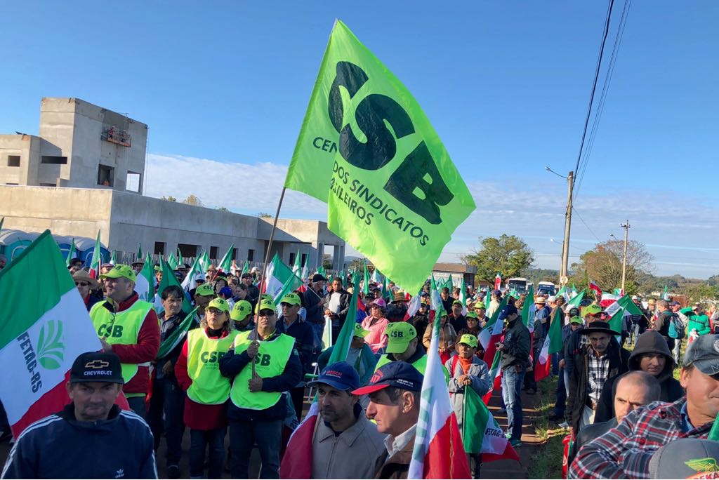 8º grito de Alerta Missões Fronteira Noroeste, no Rio Grande do Sul, reafirma a importância da luta pelo homem do campo