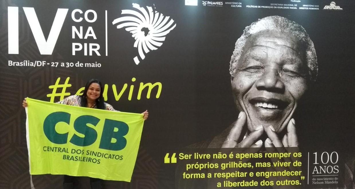 CSB participa da 4ª Conferência Nacional de Promoção da Igualdade Racial
