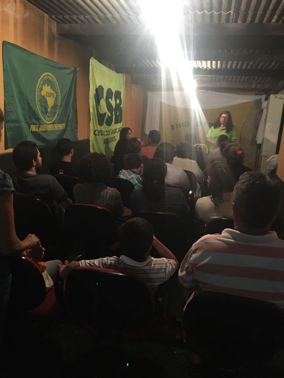 CSB Goiás apoia organização de sindicato de servidores municipais de Corumbá