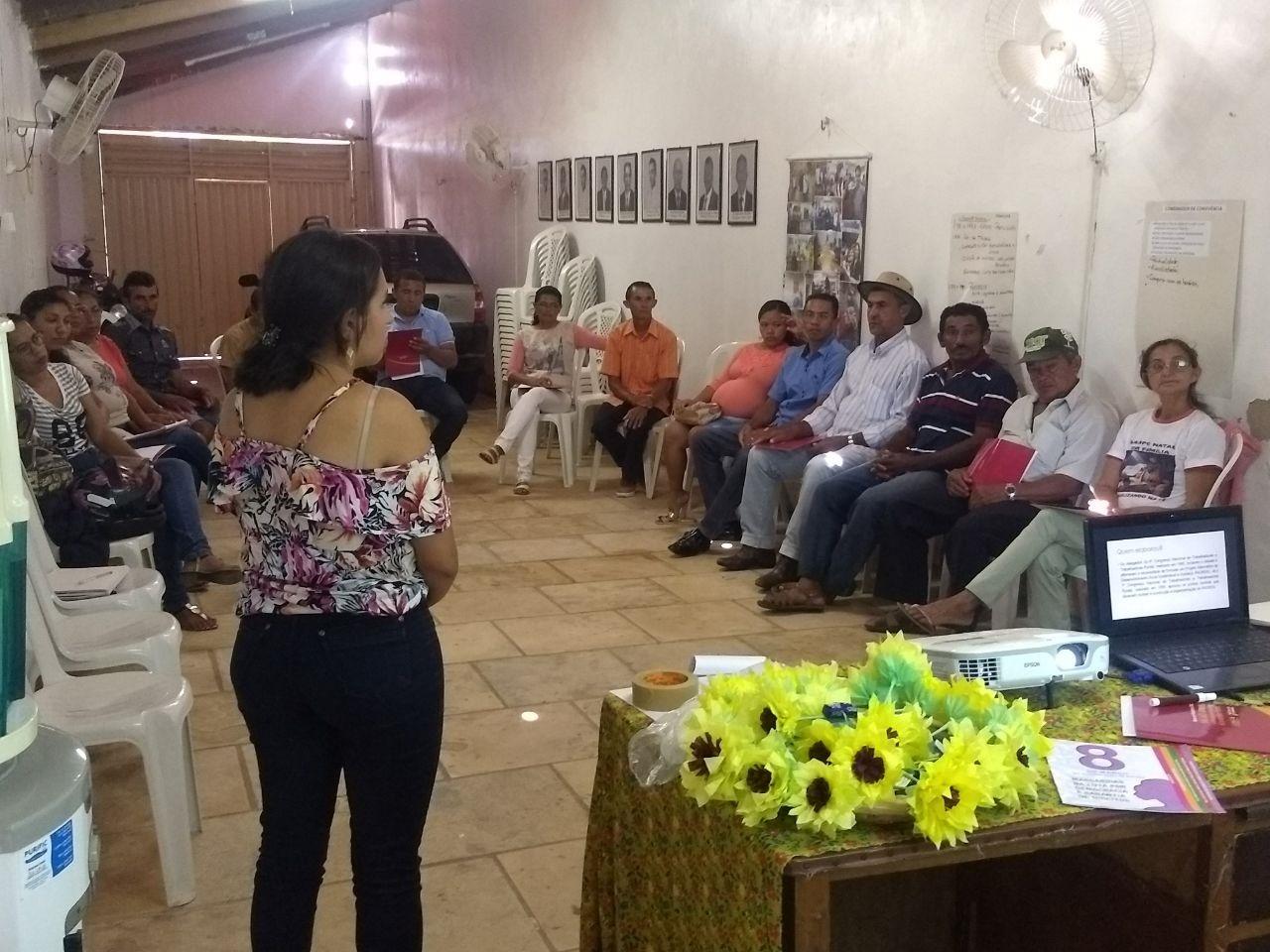 Diretoria do Sindicato dos rurais de Nova Olinda realiza curso de formação sindical