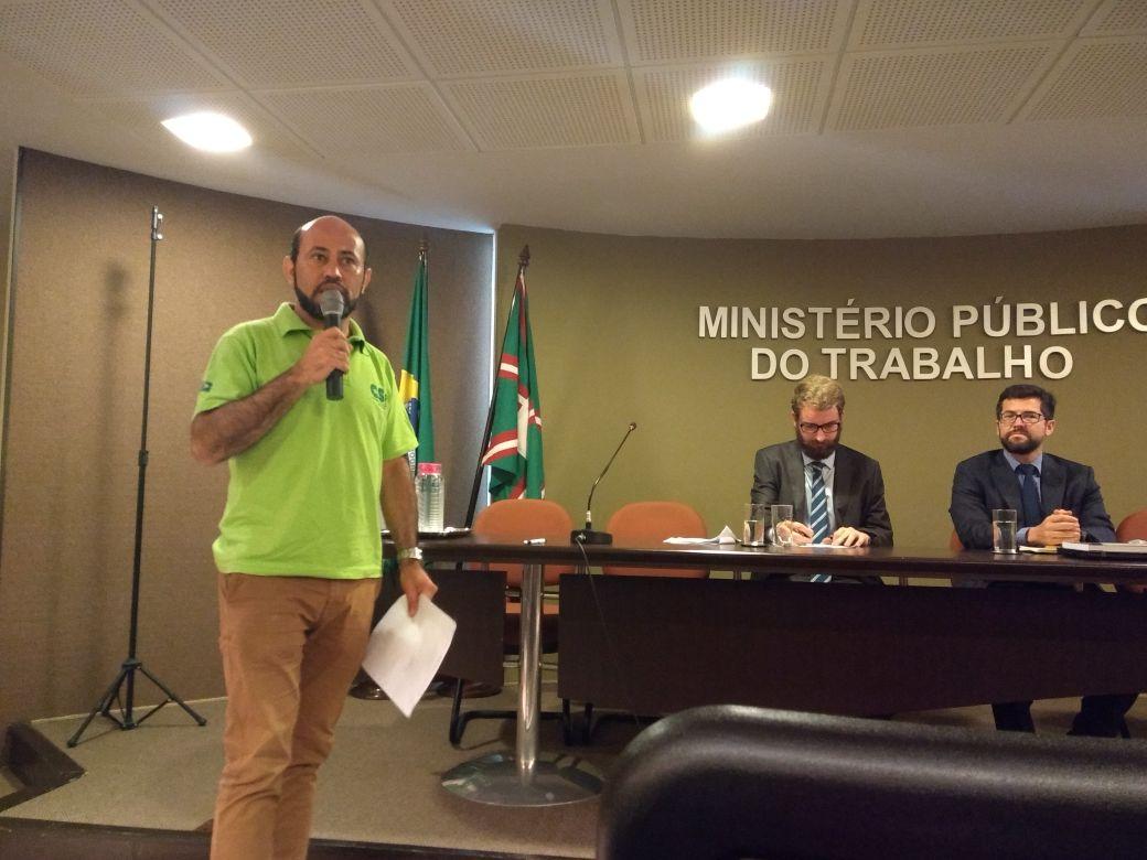 Sintramotos reivindica e MPT-PR promove audiência pública para trabalhadores em aplicativos de entrega