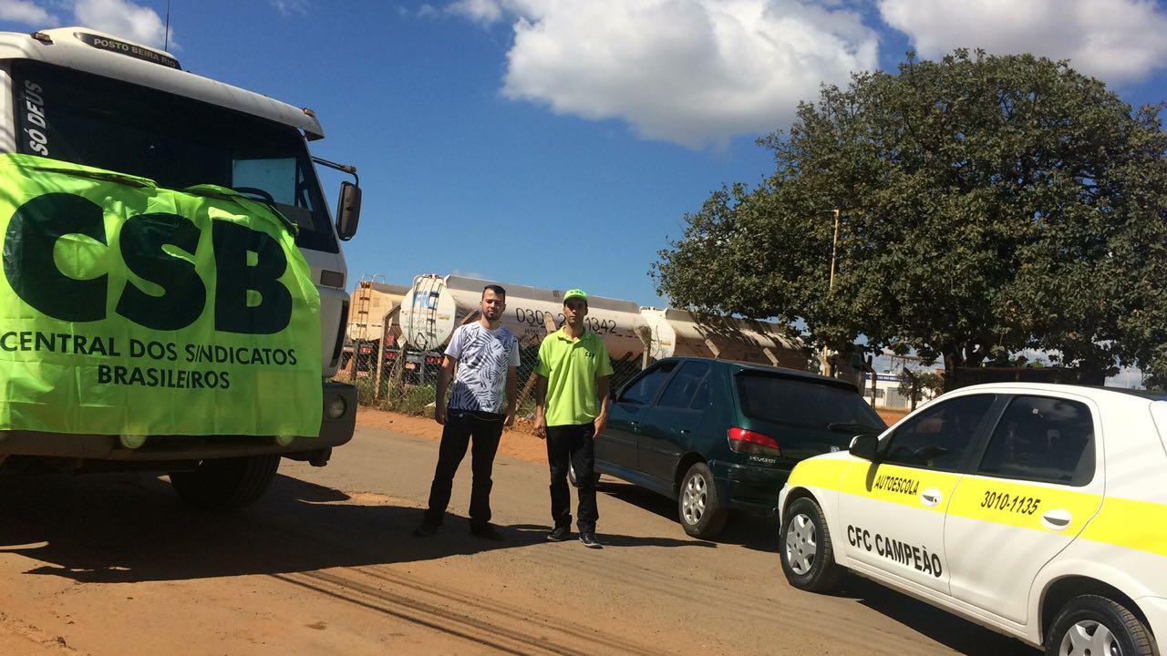 CSB promove ações de apoio e solidariedade pelo País em defesa dos caminhoneiros