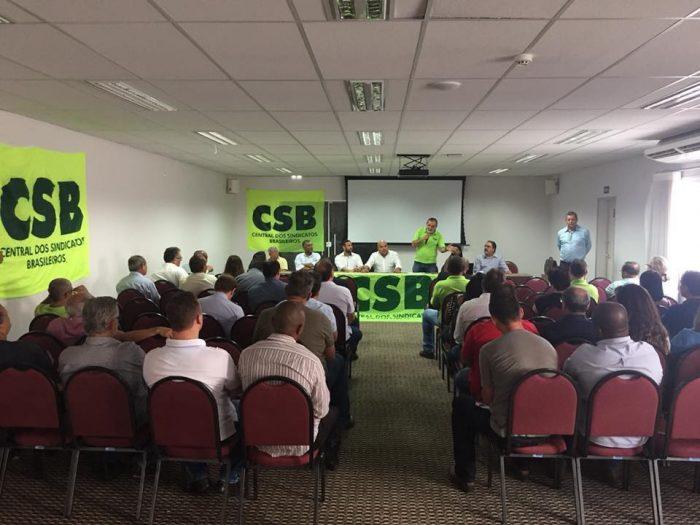 Araçatuba recebe Encontro Regional da CSB SP para discutir sustentação financeira dos sindicatos