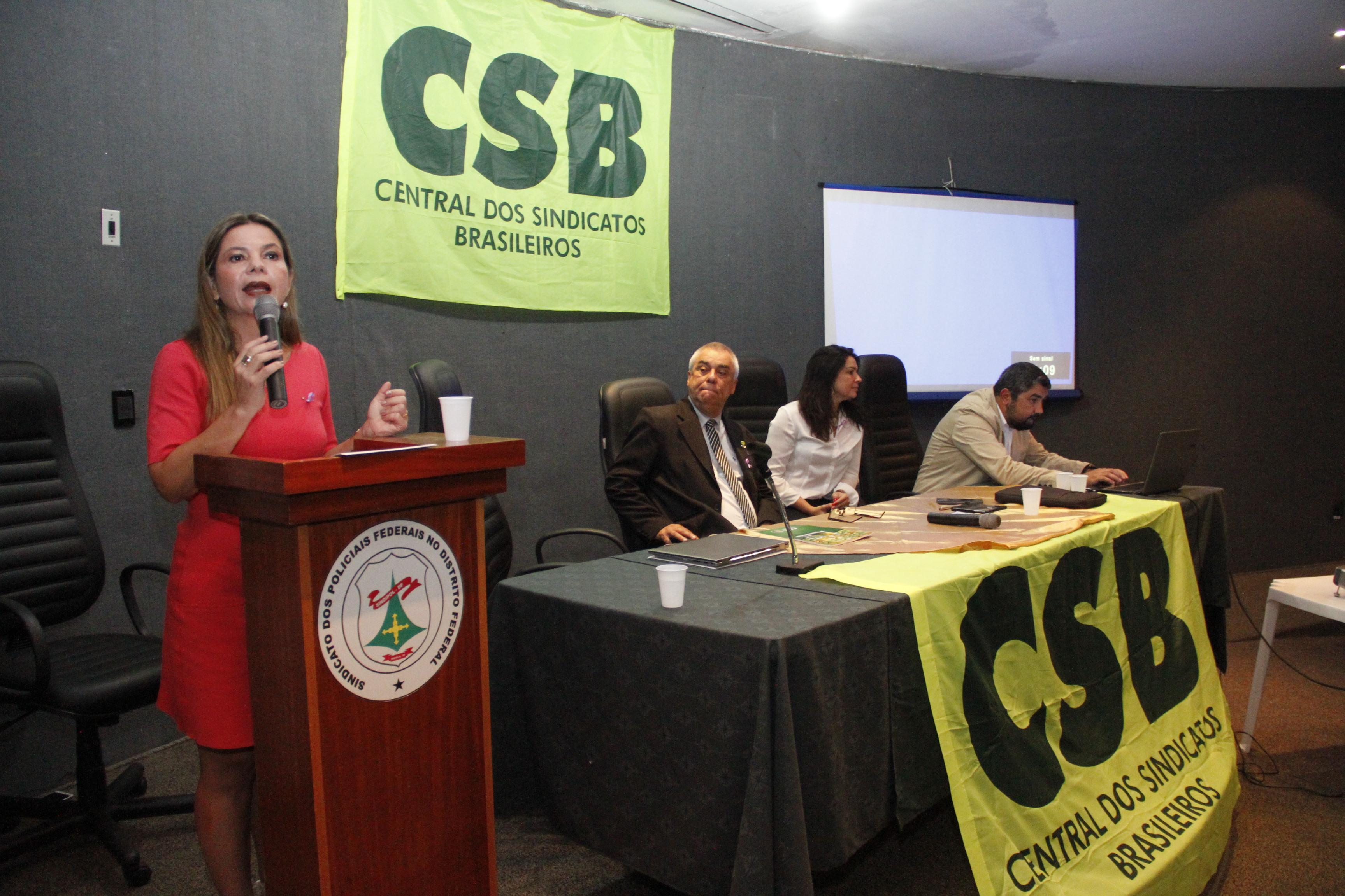 Vice-presidente da Anamatra fala sobre as inconstitucionalidades da reforma trabalhista em seminário da CSB