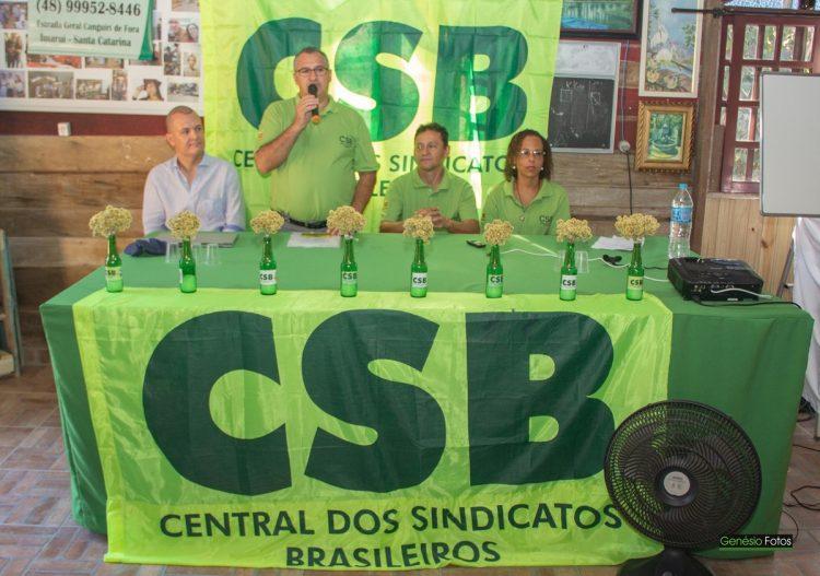 CSB SC inicia ciclo de Cursos de Formação Sindical para debater reforma trabalhista e movimento sindical no estado